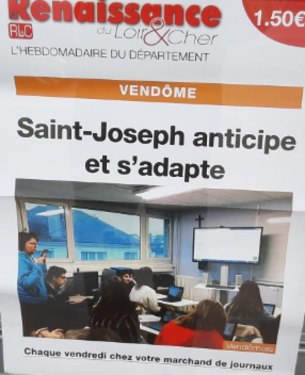 SAINT‌ ‌JOSEPH‌ ‌ANTICIPE‌ ‌ET‌  ‌S'ADAPTE‌ ‌ ‌